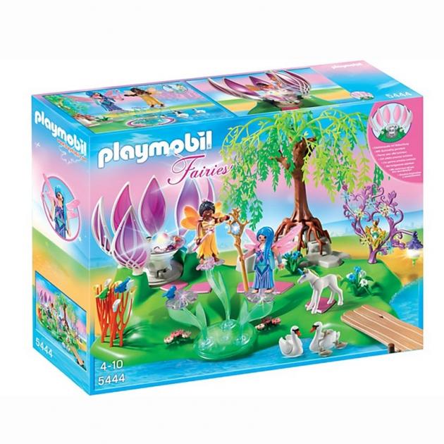 Playmobil Остров фей с волшебным жемчужным фонтаном 5444pm